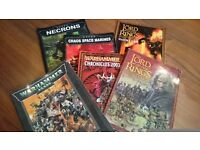 Warhammer 40k / Lord of the Rings codexes Games Workshop