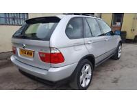 BMW X5 4x4 3.0d sport diesel automatic 2004