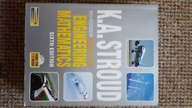K.A. Stroud Engineering Mathematics text book