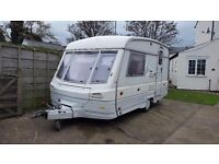 SWIFT CORNICHE 2 BERTH IN GOOD CLEAN CONDITION WITH HOT AND COLD WATER SHOWER CASSETTE TOLILET