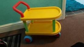 Kid food trolley