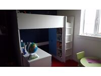 Cabin bed less than year old, immaculate condition