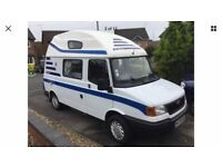 ldv fifer coachbuilt camper by enc,1.9 diesel,year 2000 w reg,power steering,low miles only 62k