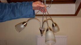 Celing light fitments (chrome)