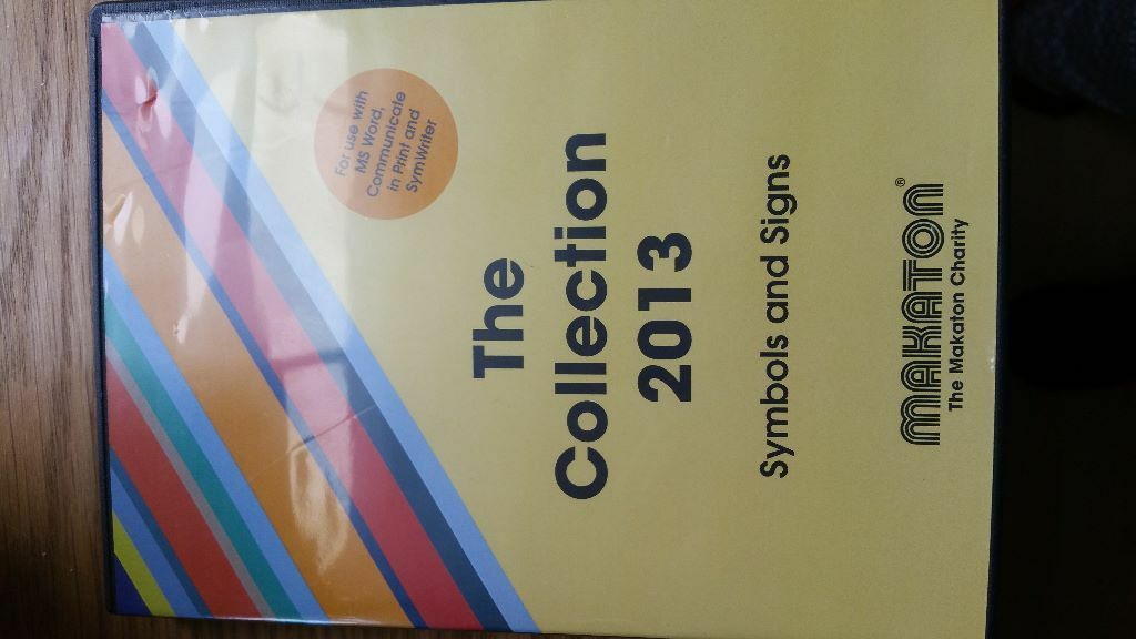 Makaton 2013 Collection Cd Was 300 New Mint Condition Contains