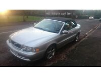 Volvo c70 Silver and black. Stunning car in excellent condition