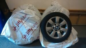 BMW WINTER tires and rims! Size 16 $500