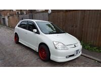 Honda civic 1.6 pearl white automatic fresh import and rare! Not Type r ep3 or toyota celica ...