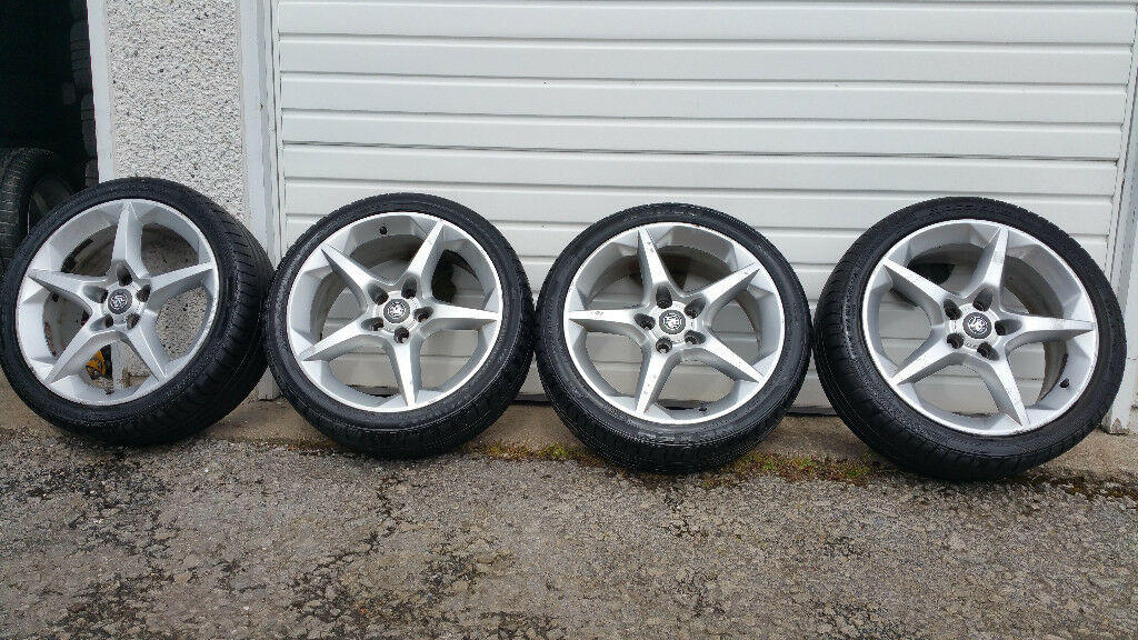 Vauxhall Genuine Penta alloy wheels + 4 x tyres 225 40 18