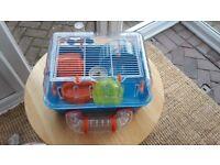 Cage for dwarf/Roborovski hamster or gerbil