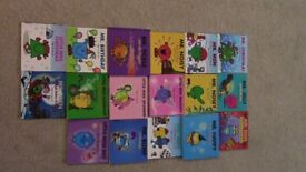 17 x Special Mr Men and Little Miss Books