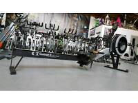 Concept 2 rowing machine c model with pm5 monitor