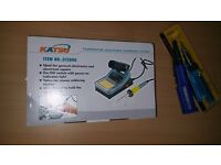 Iron Soldering Station Kit Electronic+ Gas + Battery