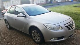 VAUXHALL INSIGNIA 2.0 TDI 2009 silver VERY GOOD CONDITION! BALLYMONEY