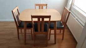 (2) House furniture (bulk or individual sales) Table/Chairs, pictures, electronics
