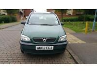 Vauxhall Zafira 1.6 petrol one year mot
