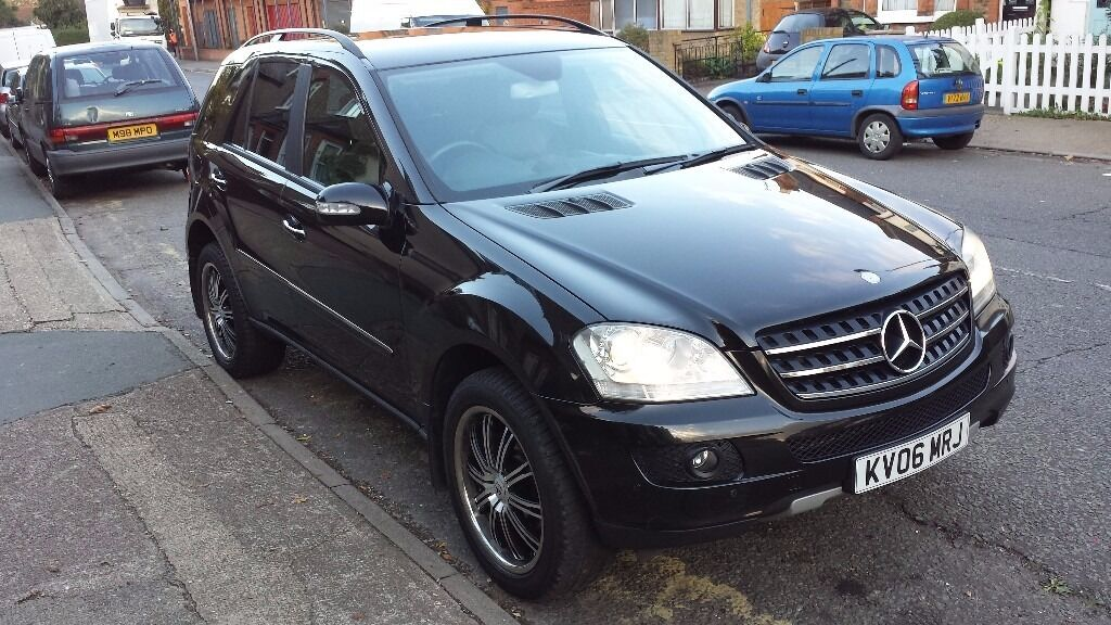 mercedes ml320 cdi se auto 2006 may partex great condition black ml 320 cdi in kingston. Black Bedroom Furniture Sets. Home Design Ideas