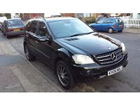 Mercedes ML320 CDI SE Auto 2006, May PartEx, Great Condition,Black. ML 320 cdi