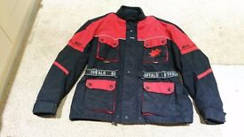 "MENS BUFFALO BIKE JACKET SIZE XL UP TO 48"" IN VERY GOOD CONDITION"