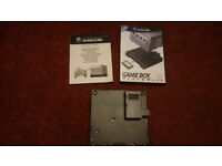 Gameboy player for nintendo gamecube. Includes the all important disc. Retro.