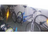 Job lot of bikes