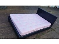 Double bed and mattress - can deliver