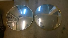 2 x Convex Mirror