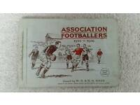 Wills Cigarette Cards of Association Footballers