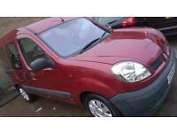 Renault Kangoo 1.2 , 2004, wheelchair access ramp, long MOT £695