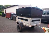 Car trailer Erde 122.2