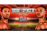 Brook v Spence Jr Tickets!