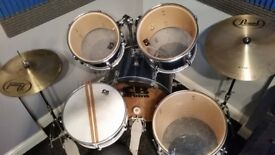 CB 5 Piece Drum Kit in Blue