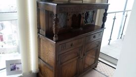Beautiful carved side cabinet