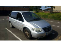 ++++AUTOMATIC CHRYSLER GRAND VOYAGER DIESEL 2006 PLATE+++WITH MOT FULL LEATHER+++