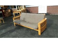 Lovely SOLID WOODEN SOFA BED FROM NEXT FURNITURE FREE DELIVERY LOCAL