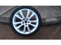 Skoda Octavia vrs zenith alloy wheel with 225/40/18 Continental Sport Contact Tyre.