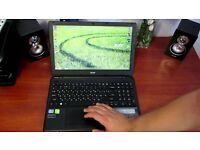 ACER ASPIRE E1-570 INTEL CORE I3-3217U 1.80GHZ,1000GB HDD,8GB RAM,WINDOWS 10,GOOD CONDITION