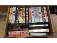 VHS action packed videos