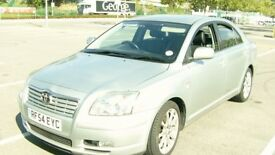 TOYOTA AVENSIS 1.9TD 5 DOOR HATCHBACK*** WITH LONG M O T****