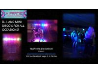 Contact A. H. Parties for all your party needs