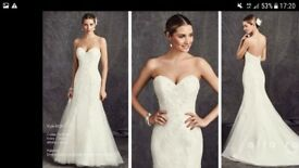 Kenneth Winston, Ella Rosa BE281 Wedding Dress