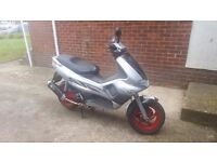 Gilera runner vx125 4t with spare 200vx engine