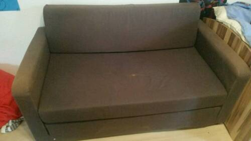ikea sofa braun in hessen wetzlar ebay kleinanzeigen. Black Bedroom Furniture Sets. Home Design Ideas