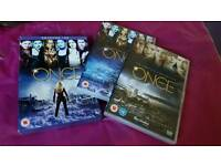 Once Upon A Time DVD Seasons 1 & 2 in Excellence Condition