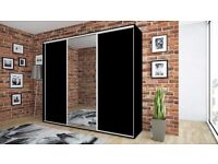 Delivery 1-10 days 280cm and 250cm Brand New SLIDING DOOR WARDROBE 4 colours We Can Delivered