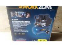 Air Compressor, Aldi Workzone new still boxed