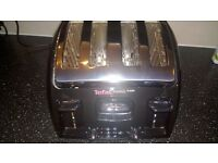 Tefal Avanti Classic 4 slice toaster- used good condition