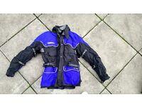 corner rain breaker motorbike jacket L