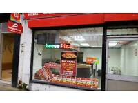 Chicken and pizza take away lease for sale