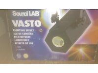 Sound lab disco lights x 3 boxed